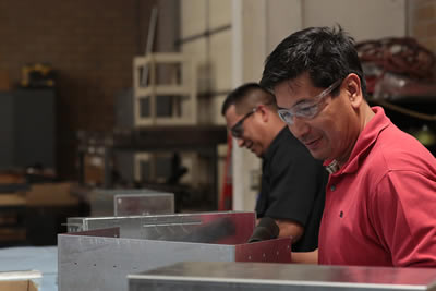 metal product assembly