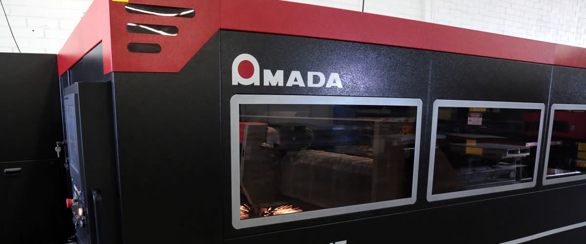 The Amada LCG 3015 at C&D Metal Products